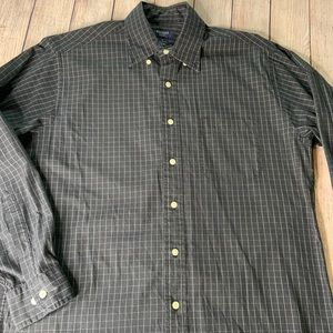 Brooks Sport Dress Shirt Medium